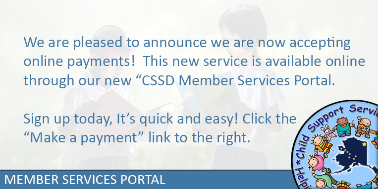 Click to visit the CSSD Member Porta